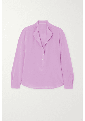 Stella McCartney - Eva Silk Crepe De Chine Blouse - Lilac