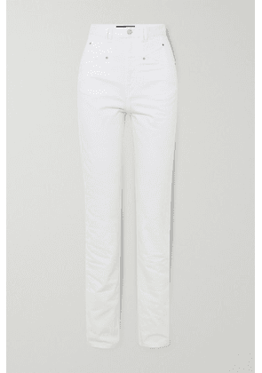 Isabel Marant - Dominic High-rise Straight-leg Jeans - White