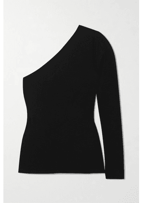 Stella McCartney - One-sleeve Knitted Sweater - Black