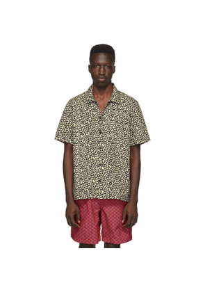 Solid and Striped Beige Leopard The Cabana Shirt