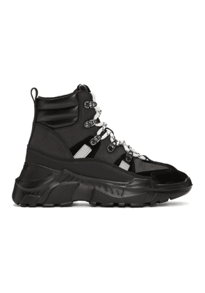 Versace Jeans Couture Black Speed Hiking Boots