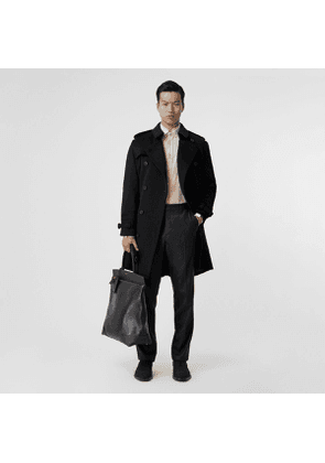Burberry Cashmere Trench Coat, Black