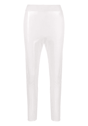 Elisabetta Franchi slim-fit leggings - White