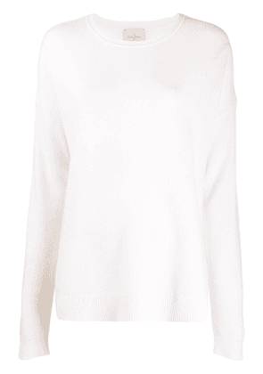 Le Kasha Crête relaxed-fit cashmere jumper - White