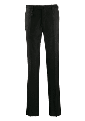 Incotex slim fit tailored trousers - Black