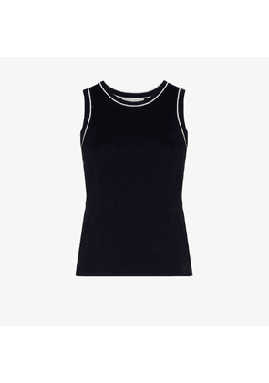 ODYSEE knitted sleeveless vest top