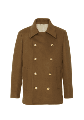 EIDOS Double-Breasted Wool Peacoat Size: 54