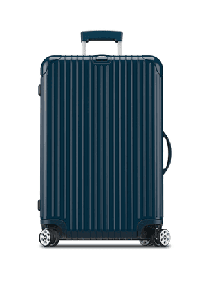 Salsa Deluxe Electronic Tag Yachting Blue 26' Multiwheel Luggage