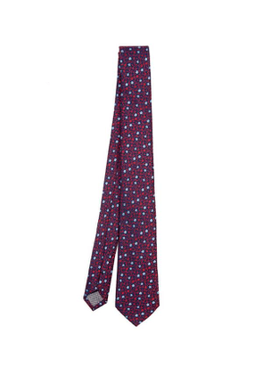 West End Ditsy Floral Silk Tie