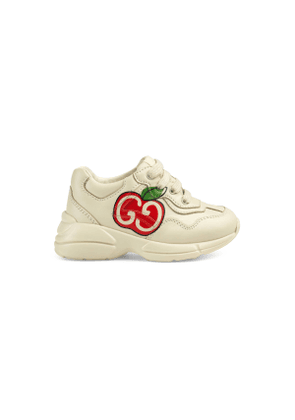 Toddler GG apple print Rhyton sneaker