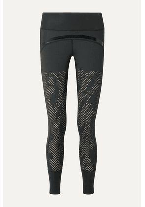 adidas by Stella McCartney - Training Believe This Perforated Climalite Leggings - Black
