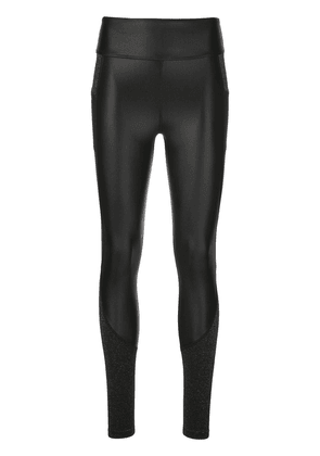 ALALA two-tone slim-fit leggings - Black