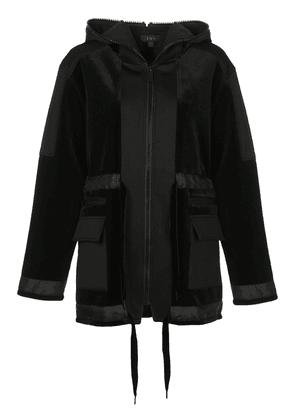 ALALA zipped hooded jacket - Black
