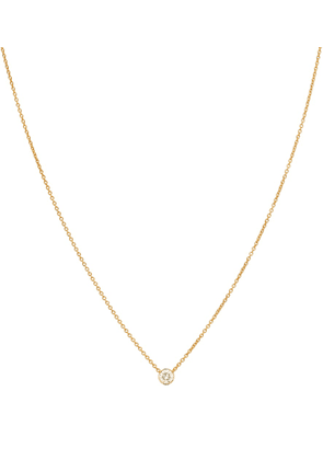 Diamante Simple 18kt gold and diamond necklace