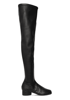 30mm Tabi Stretch Leather Boots