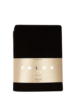 Falke - Cashmere Tights - Womens - Black