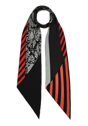 Graphic Paisley Classic Skinny Scarf