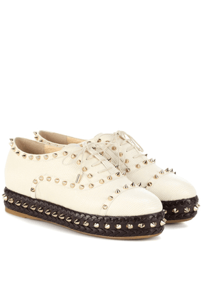 Hoxton leather sneakers