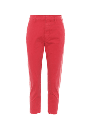 The Shaker cropped trousers