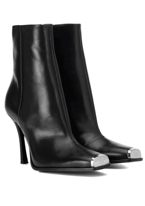 Wilamiona leather ankle boots