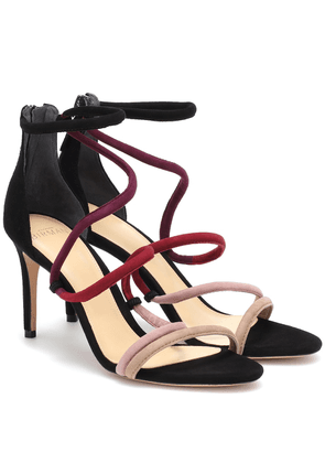Gianny 85 suede sandals