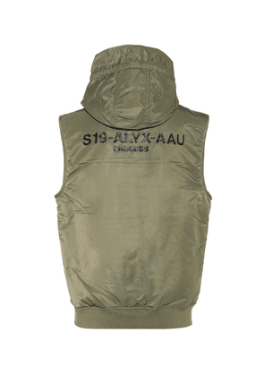 MA-1 hooded vest
