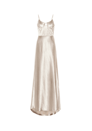 Phoebe satin gown