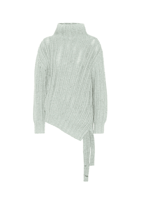 Nancy cashmere and wool cardigan