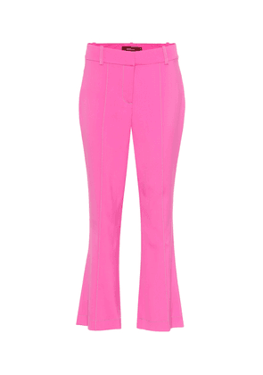 Danit high-rise cropped flared pants