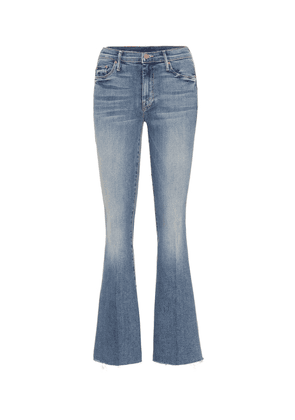 The Weekender high-rise flared jeans