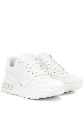 NKP3 platform lace-up sneakers