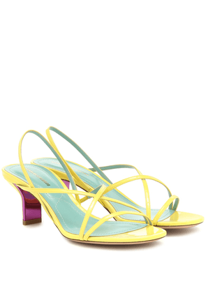 Leeloo patent leather sandals