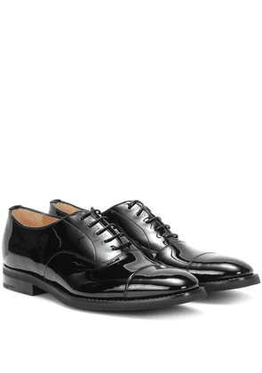 Consul patent leather oxford shoes