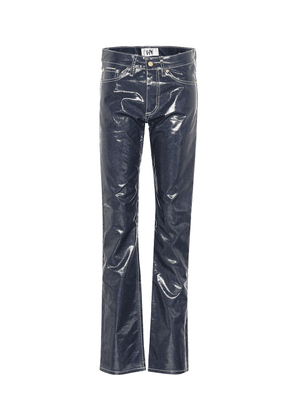 Cypress Wet mid-rise straight pants