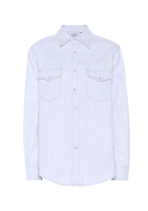 Falcon twill-cotton shirt