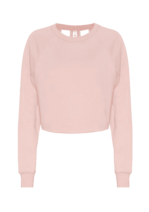 Double Take cotton-blend sweater