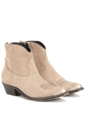 Young Suede ankle boots