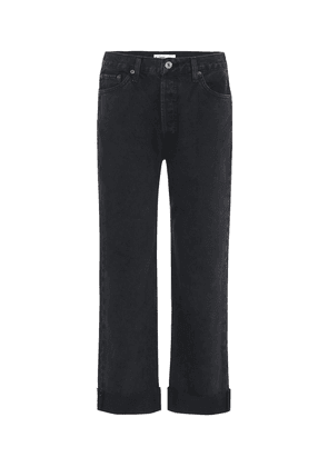 '90s Loose mid-rise straight jeans