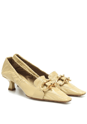 BV Madame leather pumps