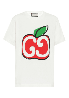 GG sequined cotton T-shirt
