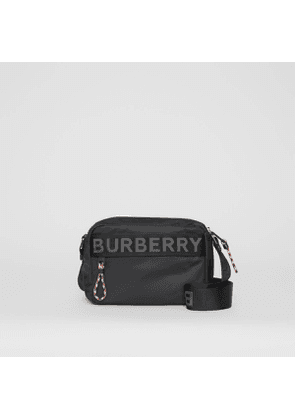 Burberry Logo Detail Crossbody Bag, Black
