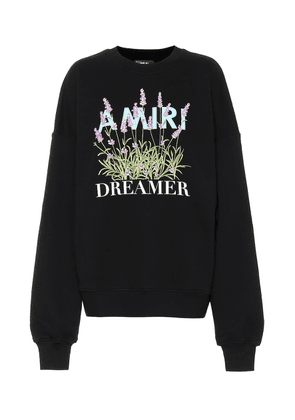 Flower Dreamer cotton sweatshirt