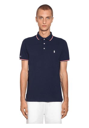 Logo Cotton Polo Piquet