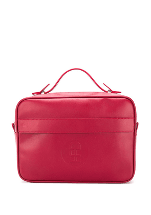 Honey Fucking Dijon top zip washbag - Red