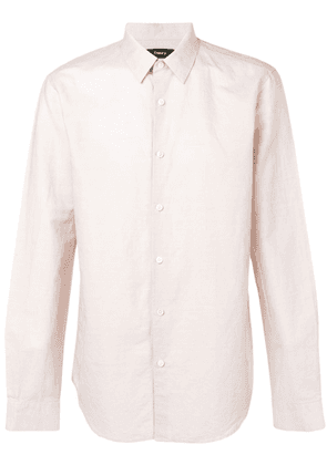 Theory Irving button shirt - PINK