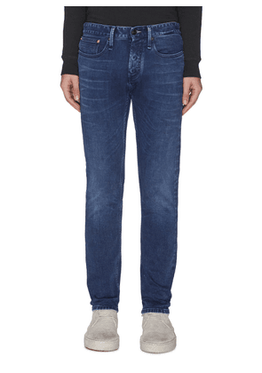 'Razor' washed slim fit jeans