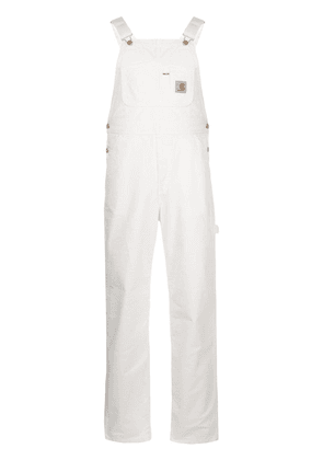 Carhartt WIP straight fit overall - White