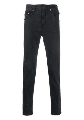 Neil Barrett piercing detail jeans - Grey