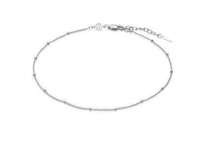 Silver Bobble Chain Anklet