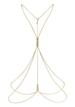 John Hardy Adwoa Aboah 18K Yellow Gold and Sapphire Classic Chain Body